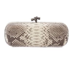 Bottega Veneta Knot Clutch in Python